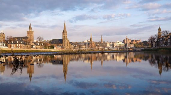 Inverness by the river
